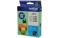 BROTHER LC231CS CYAN INK CARTRIDGE