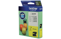 BROTHER LC231YS YELLOW INK CARTRIDGE