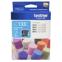 BROTHER LC133C INKJET CARTRIDGE CYAN