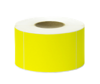AVERY (PAXAR) THERMAL 105 X 150 YELLOW LABELS ROLL1000