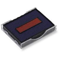 SHINY STAMP PADS FOR S401TO S407 AND S410 RED/BLUE  335051410