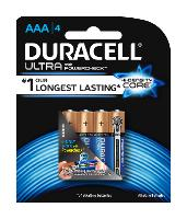 DURACELL ULTRA  AAA BATTERY PACK 4