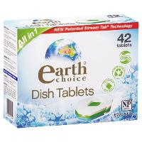 EARTH CHOICE DISHWASH TABLETS 42PKT