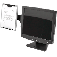 FELLOWES MONITOR MOUNTED COPYHOLDER 8033301