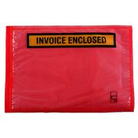 LABELOPES PACKAGING ENVELOPES INVOICE ENCLOSED 165X115MM OL300IE BX1000