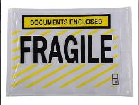 LABELOPES PACKAGING FRAGILE DOCUMENTS ENCLOSED 178x127mm BOX500 OL500DEF