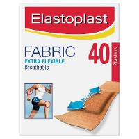 ELASTOPLAST FABRIC STRIPS BAND AID  PKT20