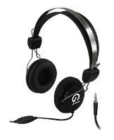 HEADPHONES SHINTARO STEREO HEADSET WITH INLINE MICROPHONE DOUBLE 3.5MM JACK