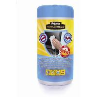 ANTIBACTERIAL MULTIPURPOSE SCREEN CLEANING WIPES TUB 520124