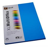 COPY PAPER QUILL A4 80GSM MARINE BLUE PK100