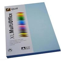 COPY PAPER QUILL A4 80GSM POWDER BLUE PK100