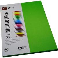 COPY PAPER QUILL A4 80GSM LIME PK100