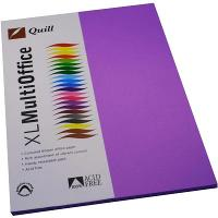 COPY PAPER QUILL A4 80GSM LILAC PK100