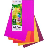COPY PAPER QUILL A4 80GSM ASSORTED HOT COLOURS PK100