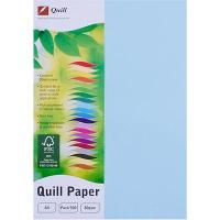COPY PAPER QUILL A4 80GSM POWDER BLUE REAM