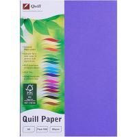 COPY PAPER QUILL A4 80GSM LILAC REAM