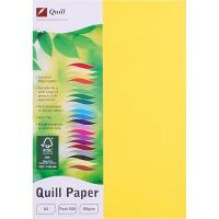 COPY PAPER QUILL A4 80GSM LEMON REAM