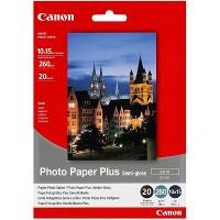CANON 260GSM 4x6 INCH SEMI GLOSS PHOTO PAPER SG-201 20 SHEETS PACK