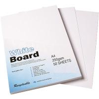 COLOURFUL DAYS 250GSM A4 WHITEBOARD 50 SHEETS PACK