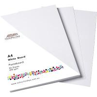 COLOURFUL DAYS 250GSM 510X640MM WHITEBOARD 100 SHEETS PACK