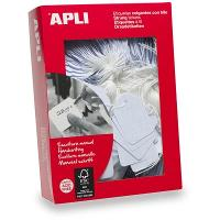 APLI 386 STRUNG TICKETS 13x34mm WHITE BOX OF 1000