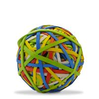 RUBBER BANDS BALL ASSORTED COLOURS SIZES 31