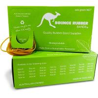 RUBBER BANDS ASSORTED SIZES 100grm BOX