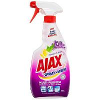 AJAX SPRAY N WIPE 500ml TRIGGER ANTIBACTERIAL MULTI PURPOSE CLEANER