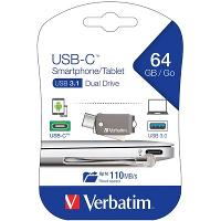 VERBATIM ON THE GO TYPE C TO USB DRIVE 64GB