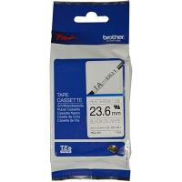 BROTHER HSE-251 SHRINK TUBE 23.6mm BLACK ON WHITE COMPATIBLE WITH PT-E300VP