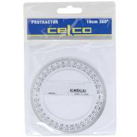 PROTRACTOR 360 DEGREE CIRCLE 100mm DIAMETER