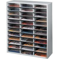 FELLOWES LITERATURE SORTER GREY- 36 COMPARTMENT