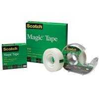 SCOTCH 3M 810 12mmx66m MAGIC TAPE BOXED REFILL
