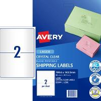 AVERY L7566 199.1x143.5mm LABEL 2/S PKT25