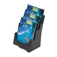 DEFLECT-O BROCHURE HOLDER SUSTAINABLE OFFICE - A4 3 TIER