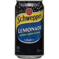 SCHWEPPES LEMONADE 375ML CANS PACK OF 24