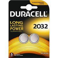 DURACELL DL2032 LITHIUM BATTERY PKT2