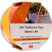 3M 7930 REFLECTIVE TAPE 50mmx3m YELLOW/RED