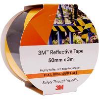 3M 7930 REFLECTIVE TAPE 50mmx3m YELLOW/BLACK