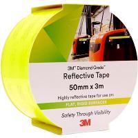 3M 983-23 REFLECTIVE TAPE DIAMOND 50mmx3m - FLUORO YELLOW/GREEN