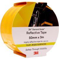 3M 983-71 REFLECTIVE TAPE DIAMOND 50mmx3m - YELLOW