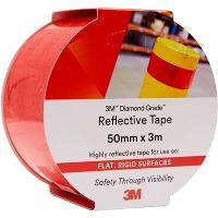 3M 983-72 REFLECTIVE TAPE DIAMOND 50mmx3m - RED