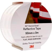 3M 983-10 REFLECTIVE TAPE DIAMOND 50mmx3m - WHITE