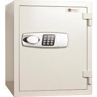DEFIANCE FIRE-RESISTANT SAFE ELECTRONIC KEYPAD & KEY 63kg W435 X H530 XD440