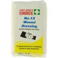 FIRST AIDERS CHOICE WOUND DRESSING NO.13