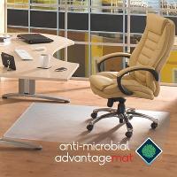 FLOORTEX ANTI-MICROBIAL CHAIRMAT 1200mm X 1500mm HARD FLOOR