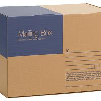 CUMBERLAND MAILING BOXES 7123 405WX300DX255H PKT25