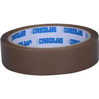 CUMBERLAND PACKAGING TAPE 45 MICRON 24mmx50m BROWN PACK OF 6