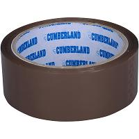 CUMBERLAND PACKAGING TAPE 45 MICRON 36mmx50m BROWN PACK OF 6