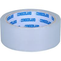 CUMBERLAND PACKAGING TAPE 45 MICRON 36mmx50m CLEAR PACK OF 6
